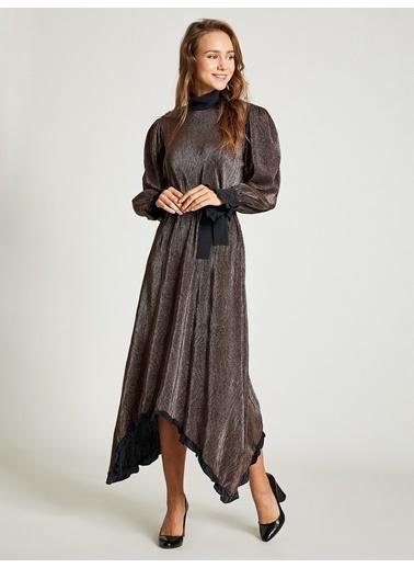 Vekem-Limited Edition Elbise Bakır
